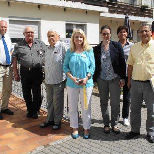 Besuch in Wallernhausen