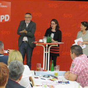 Gerhard Merz, Lisa Gnadl und Ulrike Pfeiffer-Pantring
