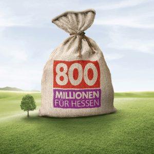 800 Mio. Euro für Hessen