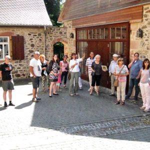 Besuch im Schlosspark Gedern